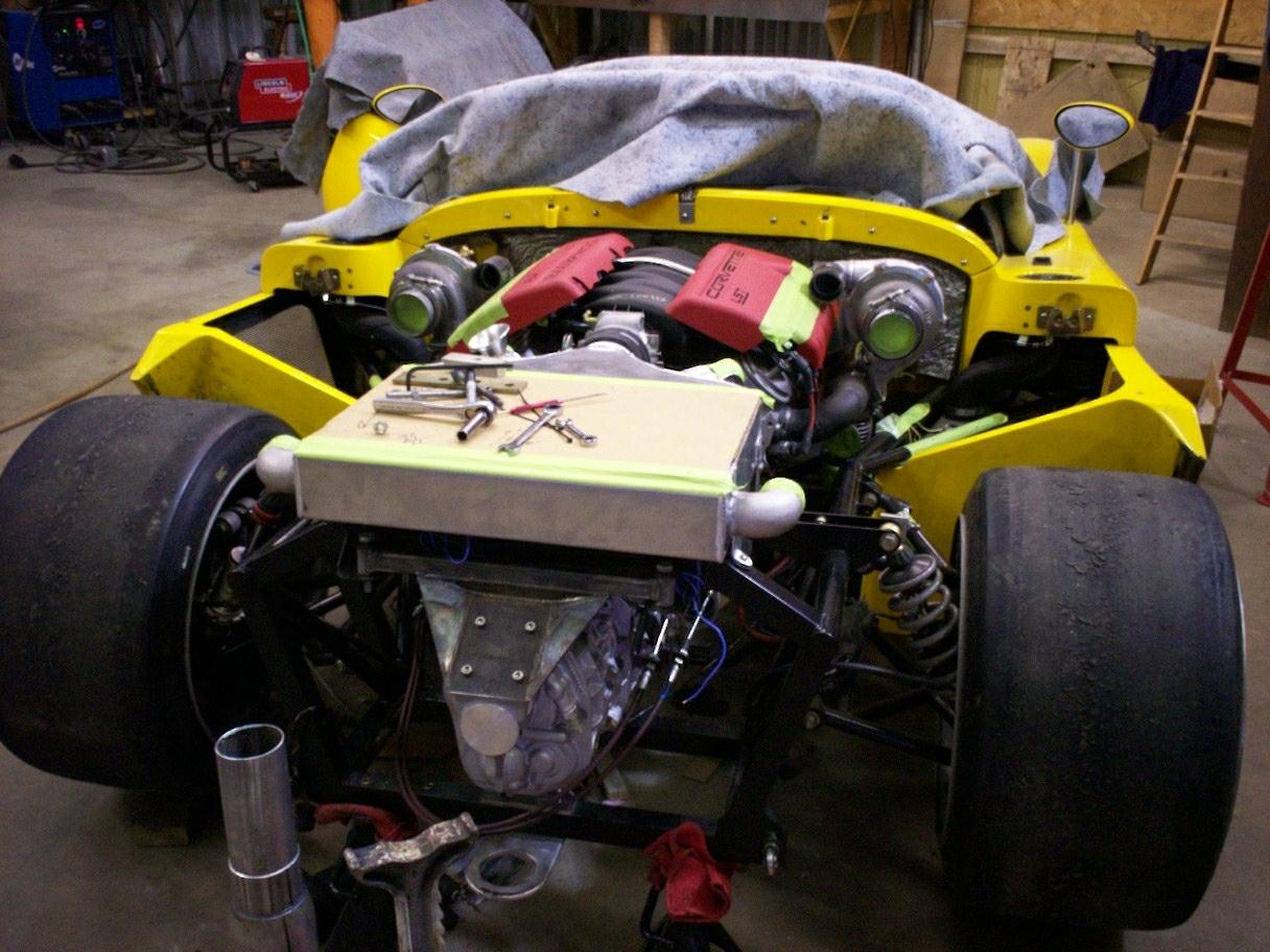 Ultima Can Am Twin Turbo 1018 Hp Innotech Corvettes